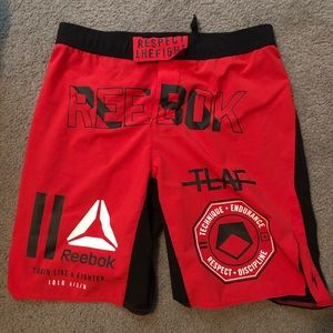Reebok Workout/Fight Shorts